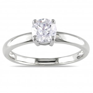 Signature Collection Gold 3/4ct TDW Certified Diamond Solitaire Engagement Ring - Custom Made By Yaffie™