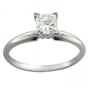 White Gold 1/2ct TDW Certified Diamond Engagement Ring - Custom Made By Yaffie™