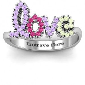 Personalised Love Spell Ring - Custom Made By Yaffie™