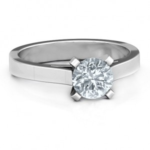 Personalised Classic Solitaire Ring - Custom Made By Yaffie™