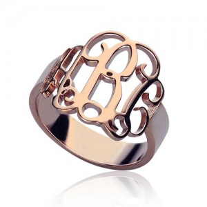 Personalised Monogram Ring - Custom Made By Yaffie™
