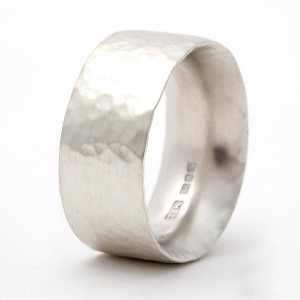 Personalised Chunky Hammered Ring - Custom Made By Yaffie™
