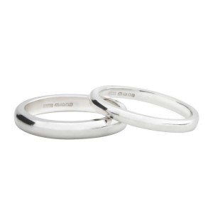 Personalised D Shape Wedding Band - Custom Made By Yaffie™