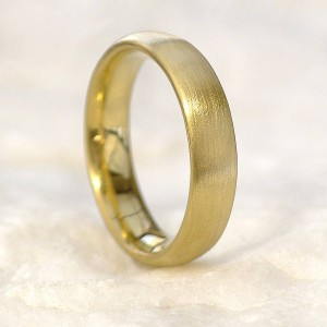 Personalised Mens Comfort Fit Wedding Band - Custom Made By Yaffie™