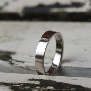 Personalised Flat Wedding Band - Custom Made By Yaffie™
