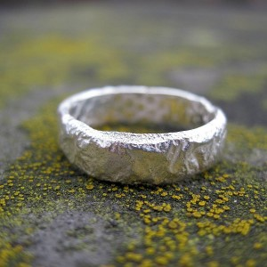Personalised Rocky Outcrop Slim Ring - Custom Made By Yaffie™