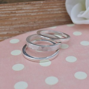 Personalised Stacking Ring - Custom Made By Yaffie™